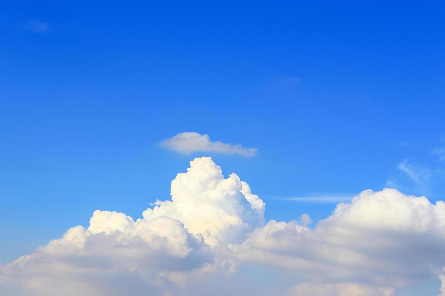 nuvole bianche soffici foto