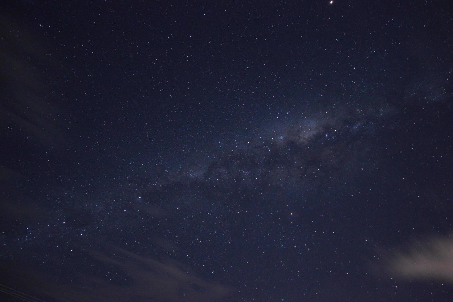 cielo notturno stellato foto