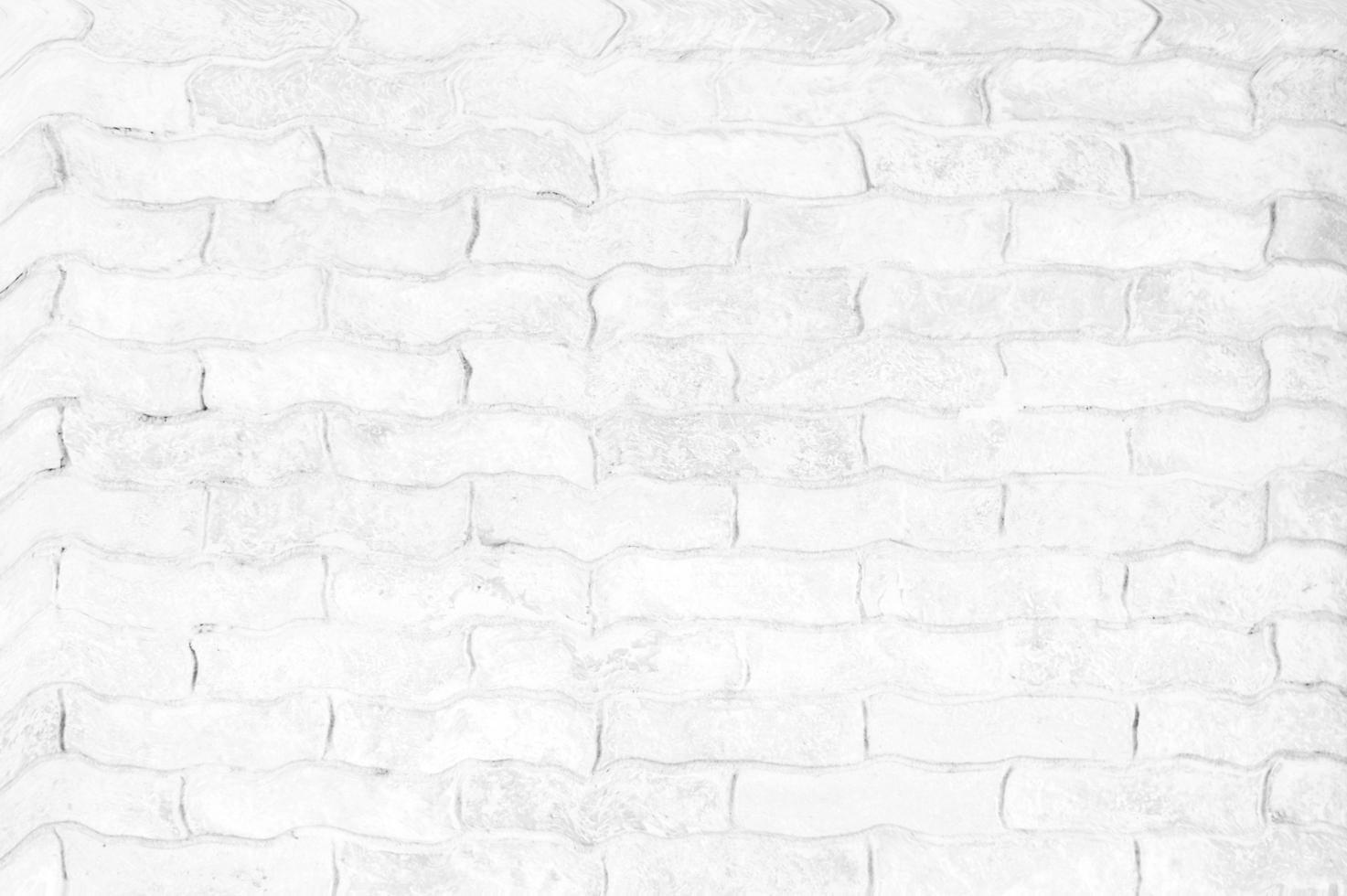 superficie di mattoni bianchi foto