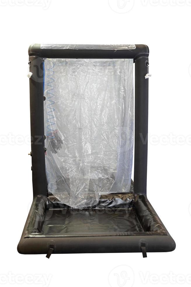 doccia di decontaminazione gonfiabile foto