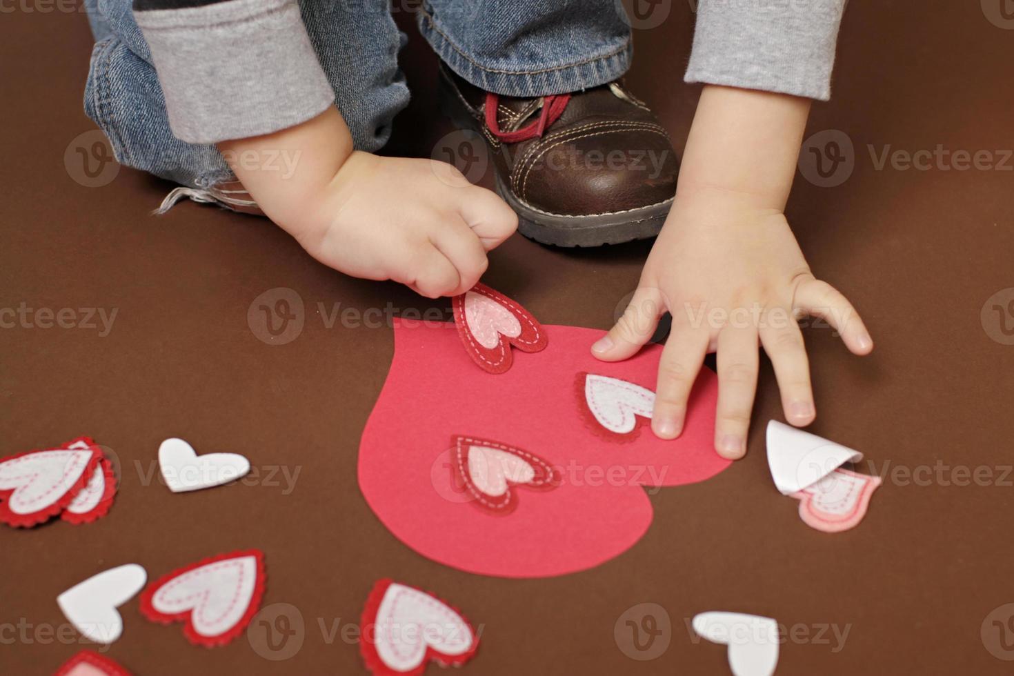 mestiere di San Valentino con cuori foto