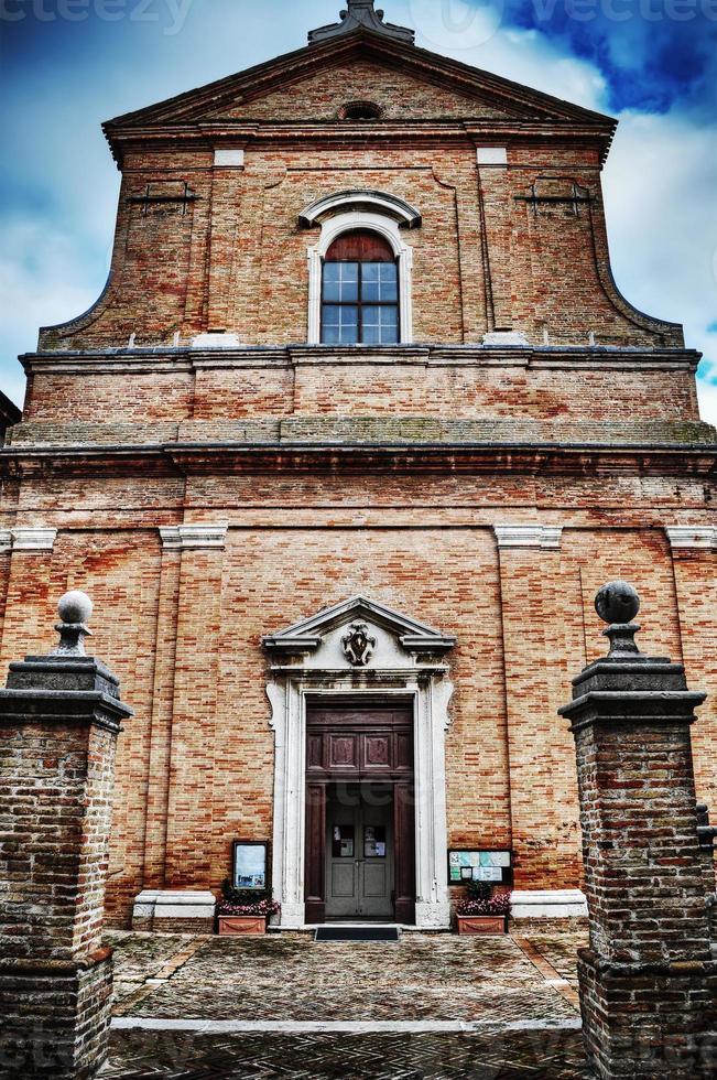 chiesa di santa maria a corinaldo foto