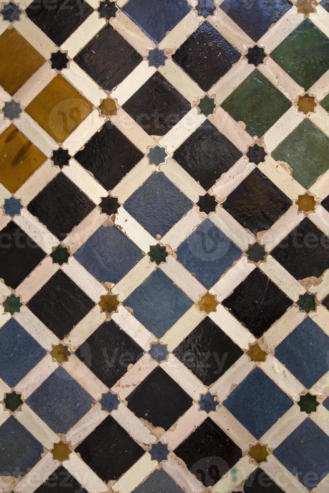 piastrelle di ceramica decorative foto