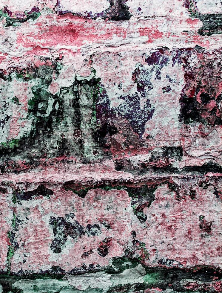 vecchio muro di mattoni foto