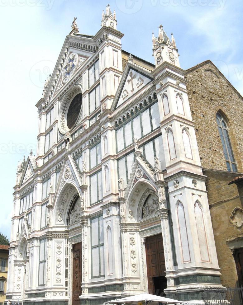 basilica di santa croce, firenze foto