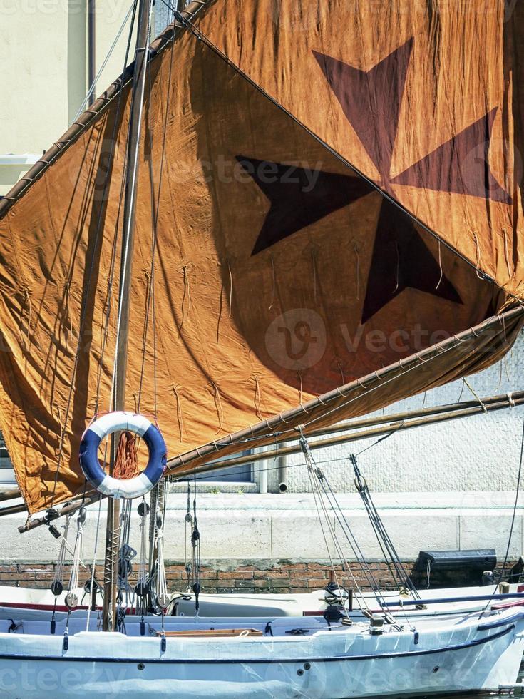 vecchie barche a vela foto