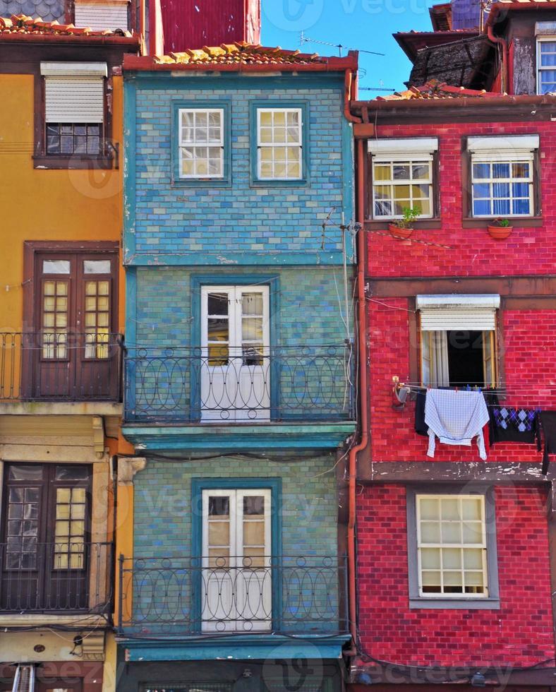 case colorate di oporto foto