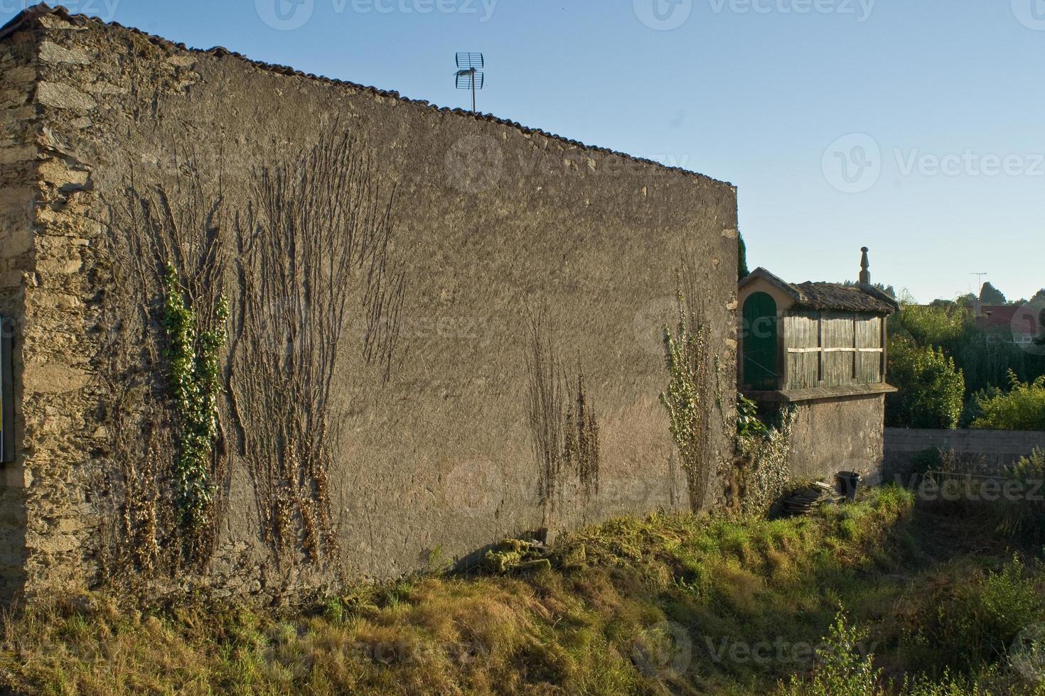 muro y horreo foto