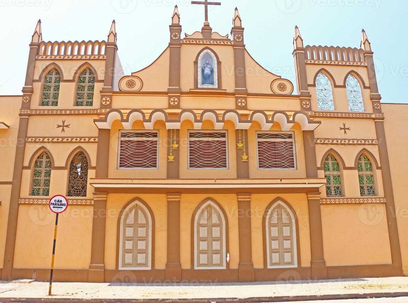convento e convento ponducherry india foto
