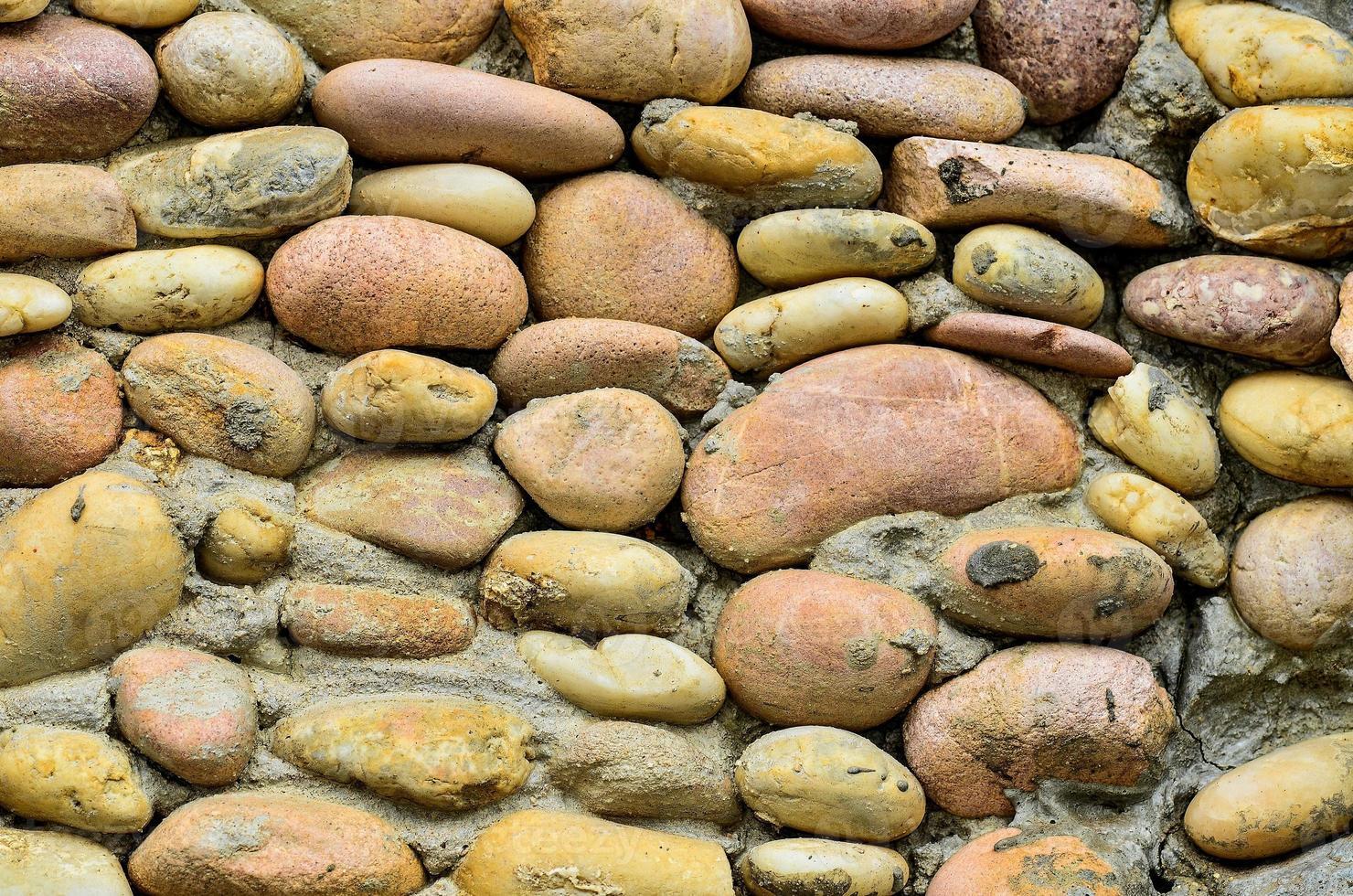 superficie del muro di pietra ardesia foto