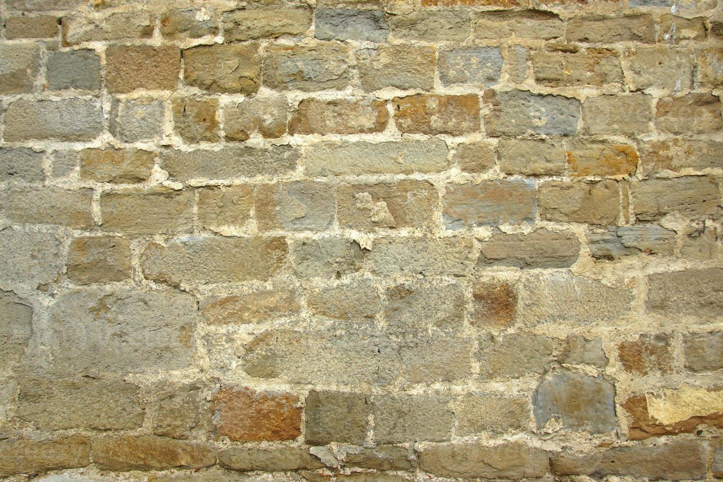 vecchio muro di pietra naturale foto