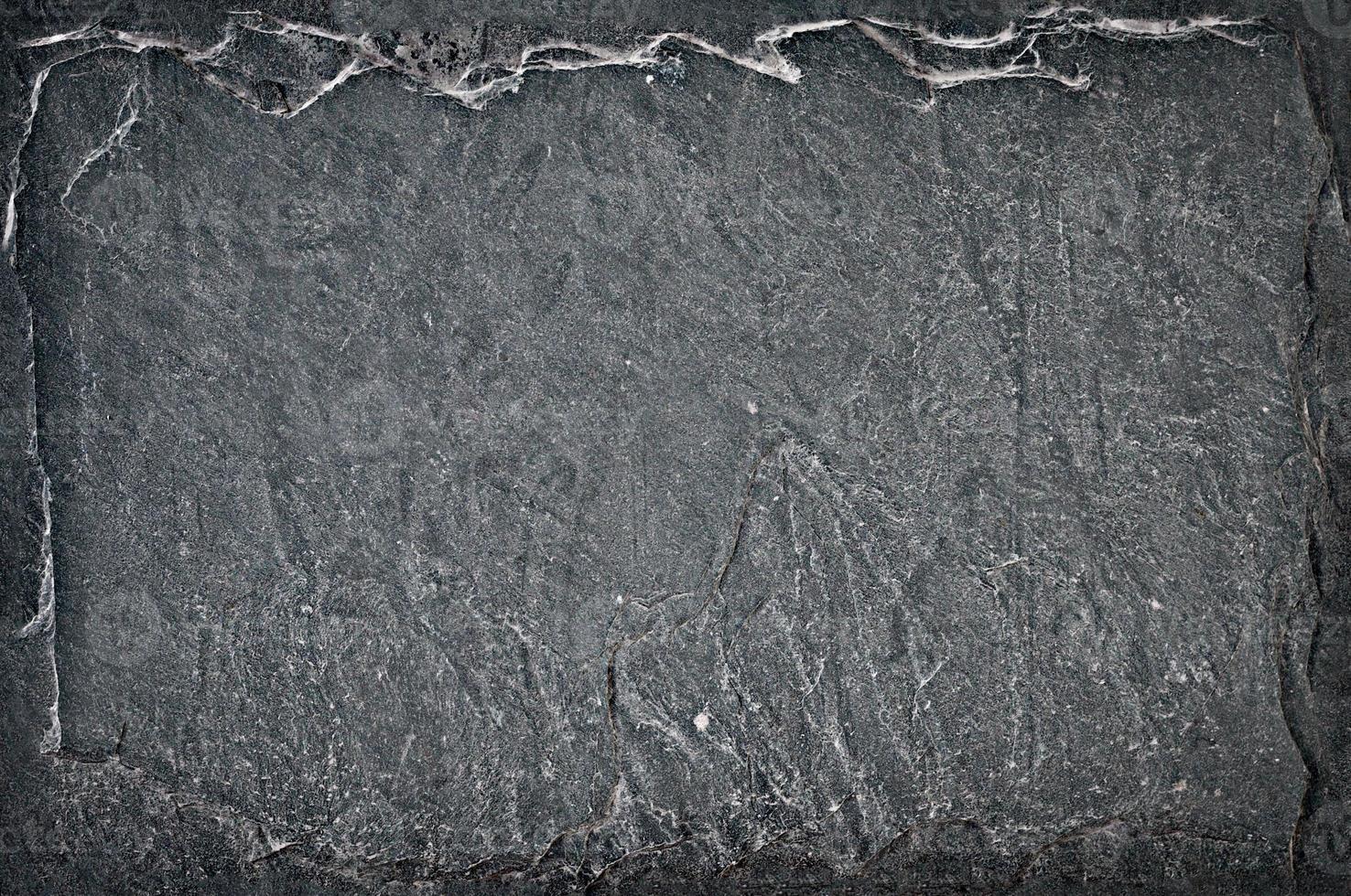 sfondo di pietra grigio scuro foto