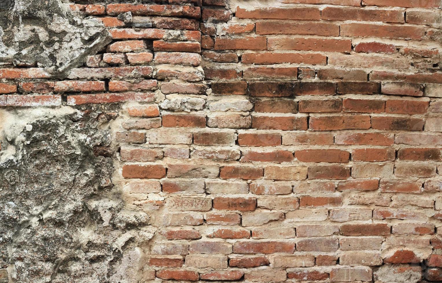 vecchio muro di mattoni texture foto