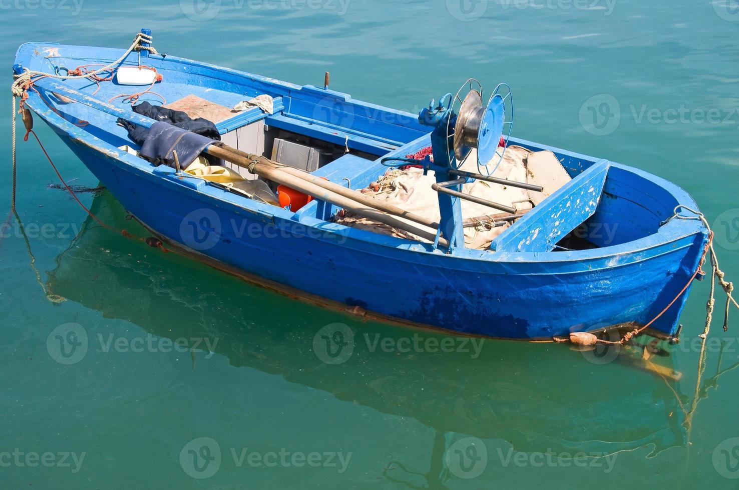 barca. Molfetta. puglia. Italia. foto