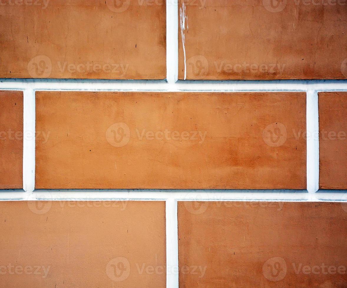 primo piano del mattone. l'immagine può essere utilizzata come sfondo foto