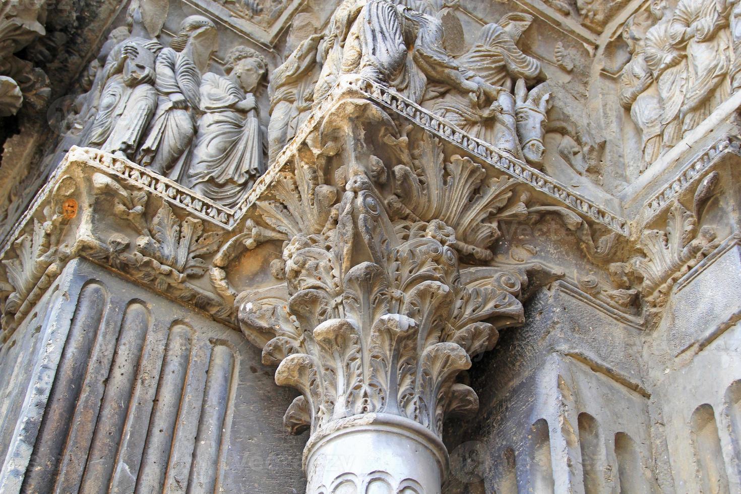 Monastero benedettino di Saint Gilles du Gard, Francia foto