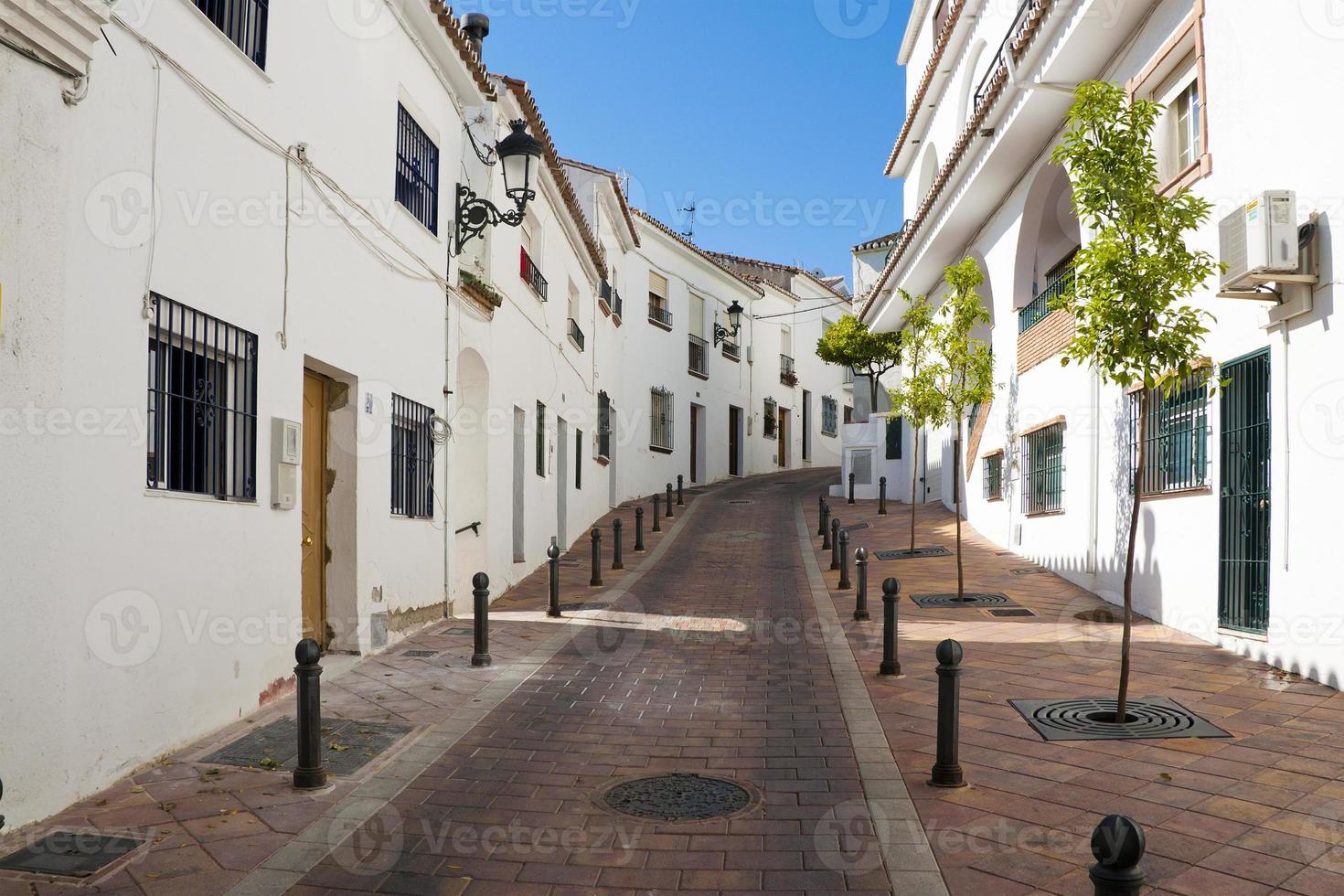 villaggio spagnolo foto