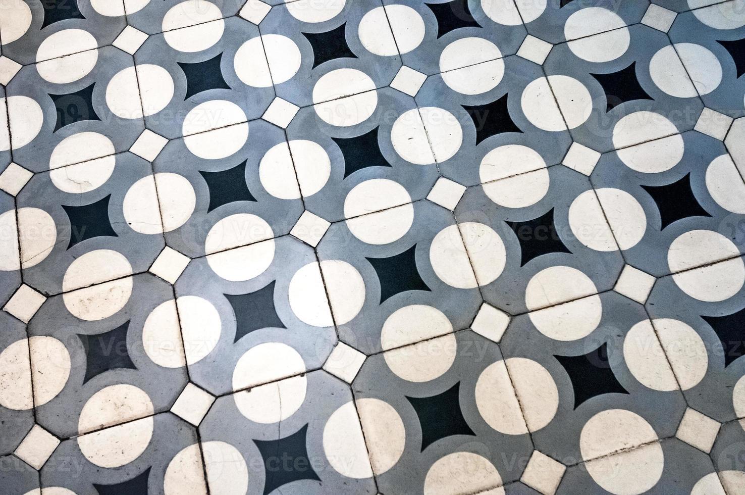 sfondo di piastrelle d'epoca foto