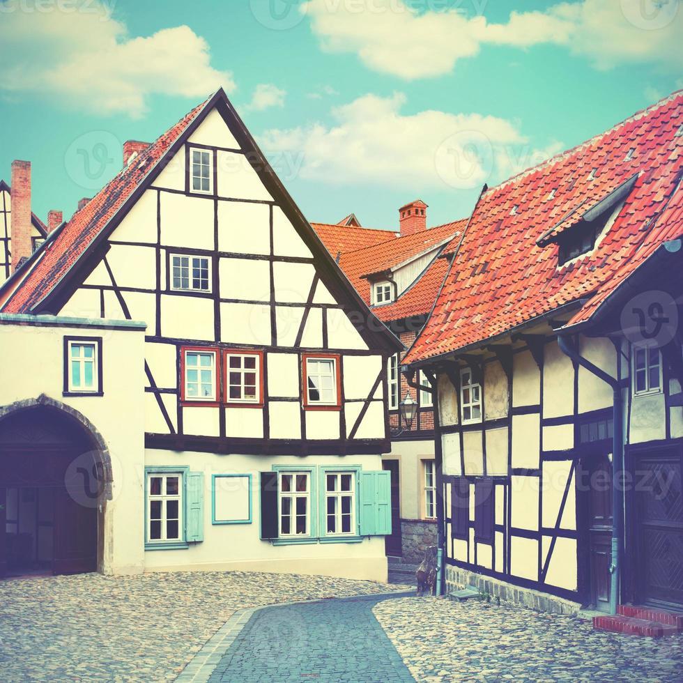 vecchia strada in Germania foto