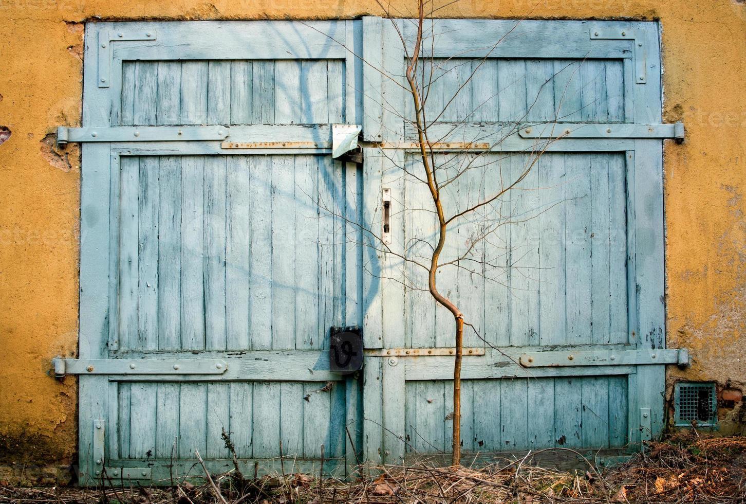 cancello del garage foto