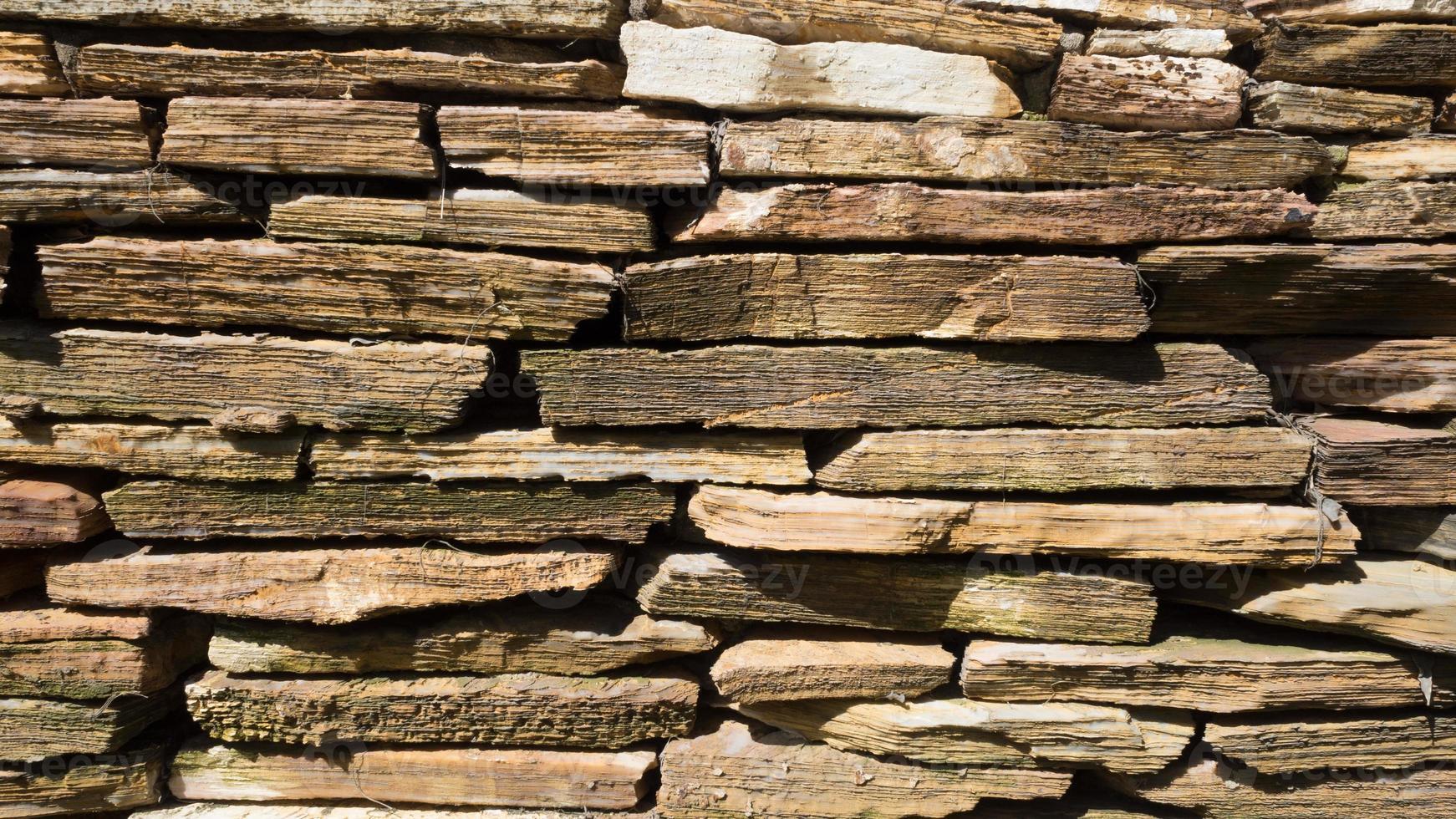 muro di mattoni di pietra texture di sfondo foto