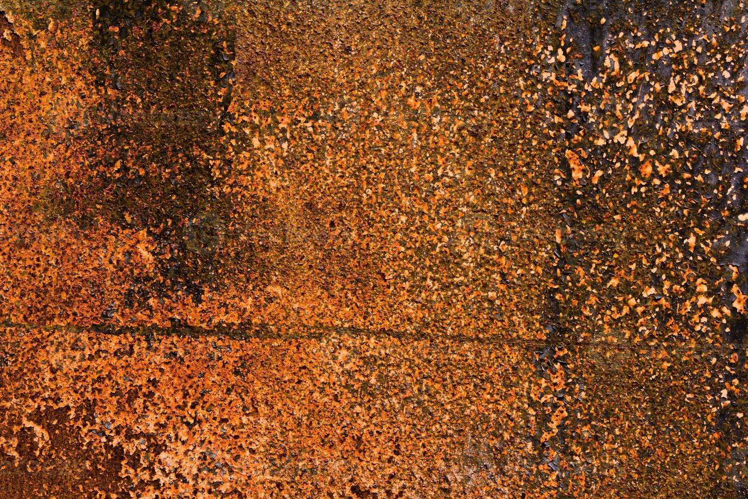 struttura dettagliata di metallo arrugginito foto