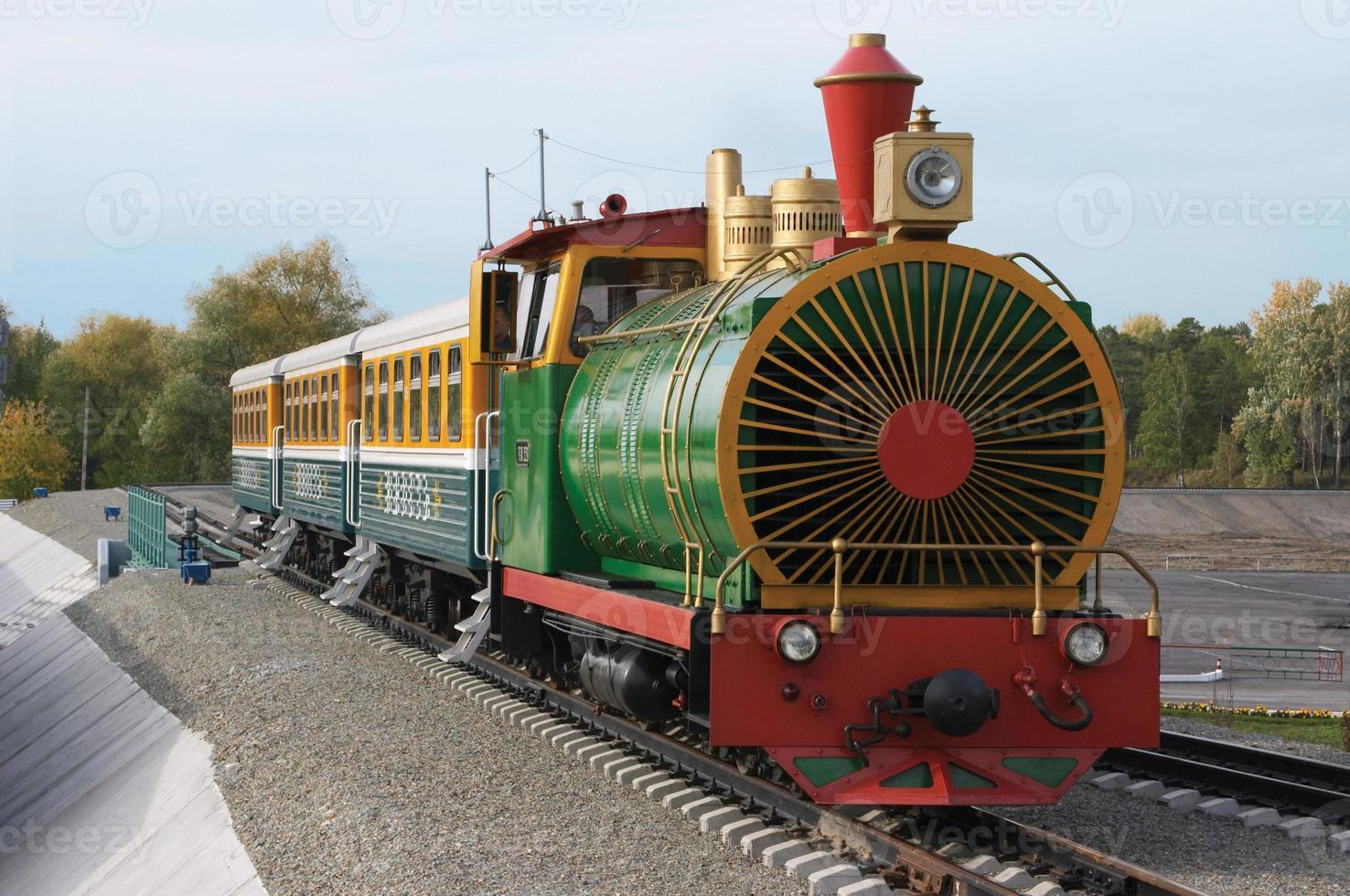 la ferrovia dei bambini. foto