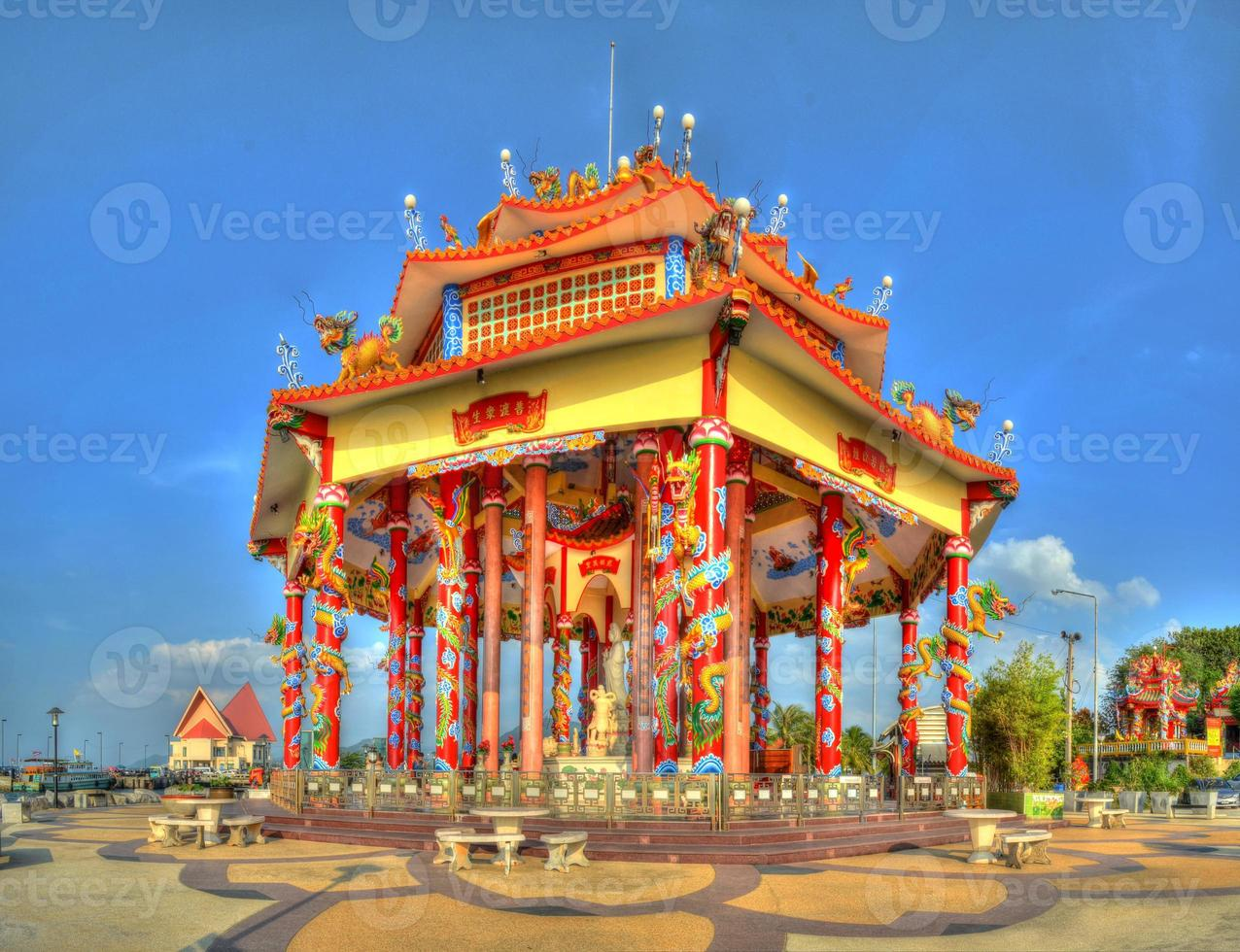 tempio cinese di guan yin foto
