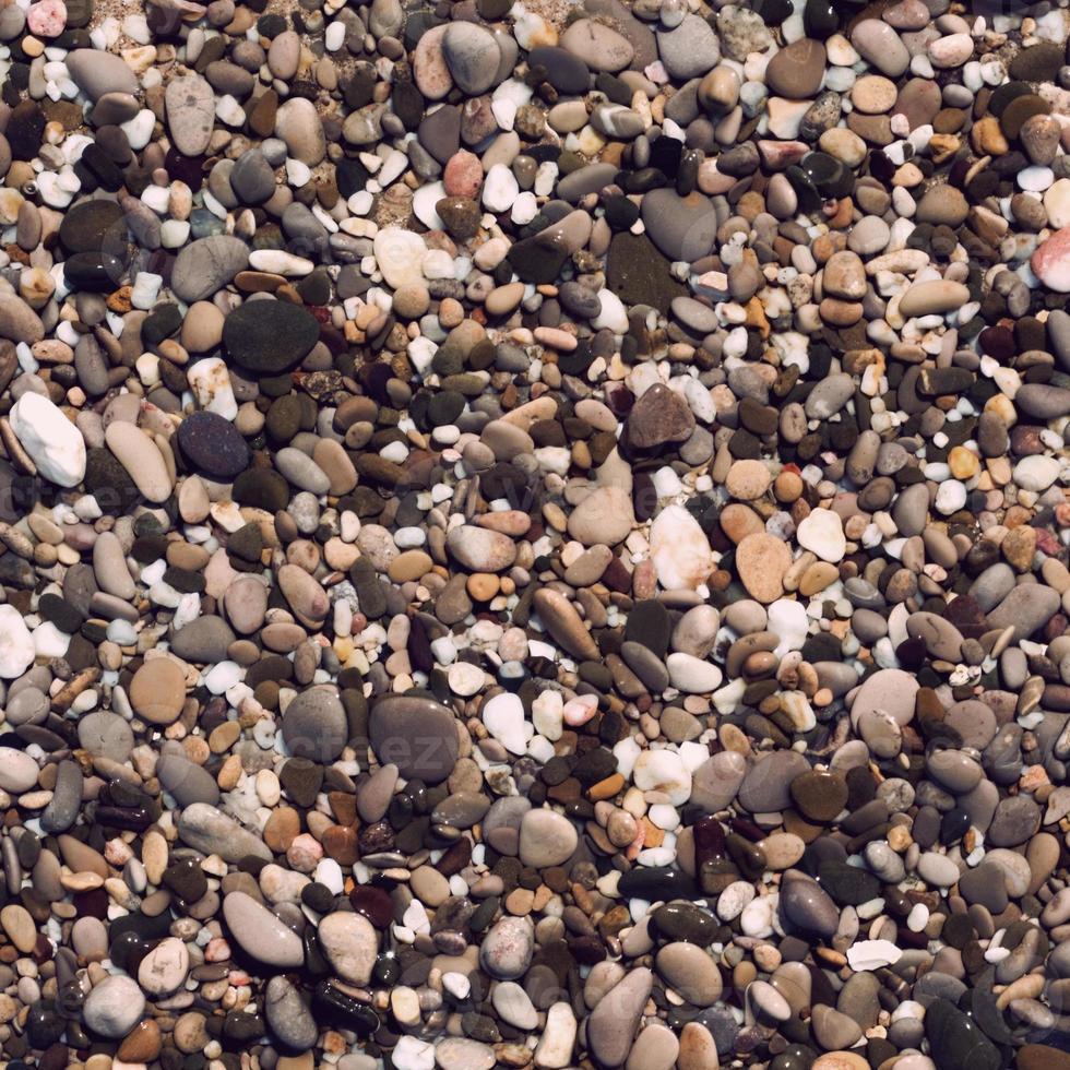 pietre di ghiaia rotonde foto