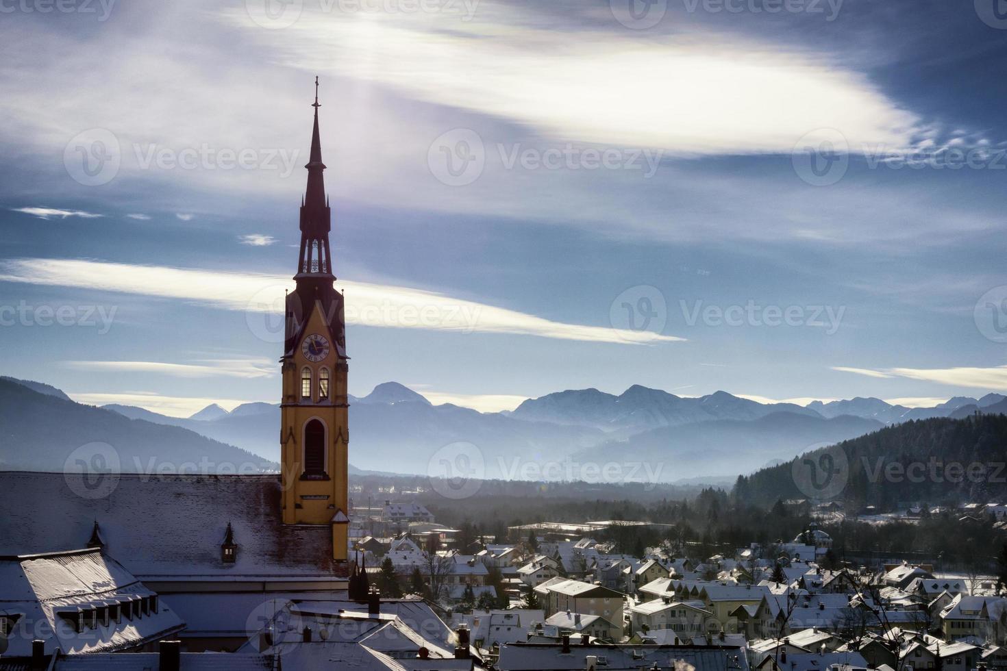 famosa chiesa bavarese foto