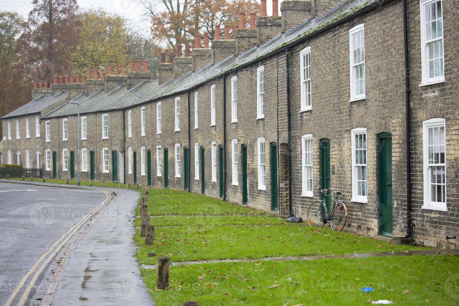 Cambridge case di città gregoriane foto