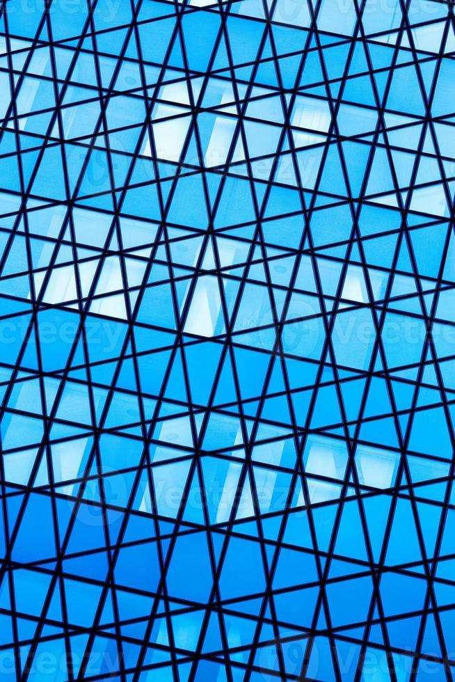 sfondo di vetro astratto foto
