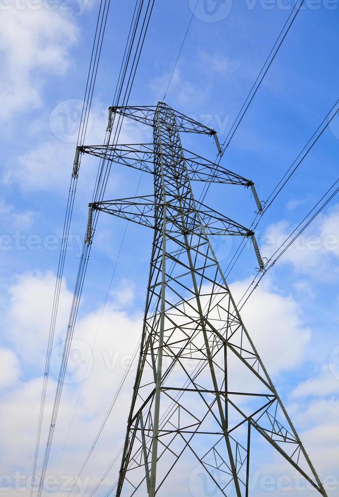 pilone di elettricità foto