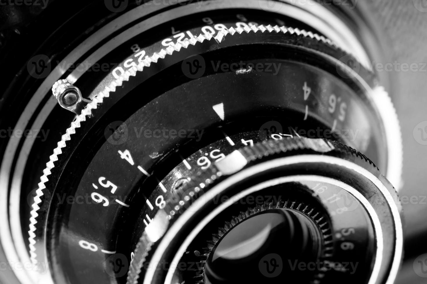 Fotocamera da 35 mm con mirino retrò foto