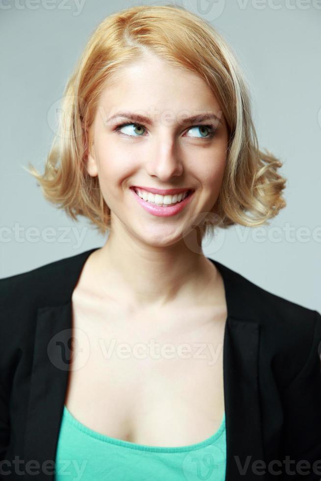 ritratto di una donna felice foto
