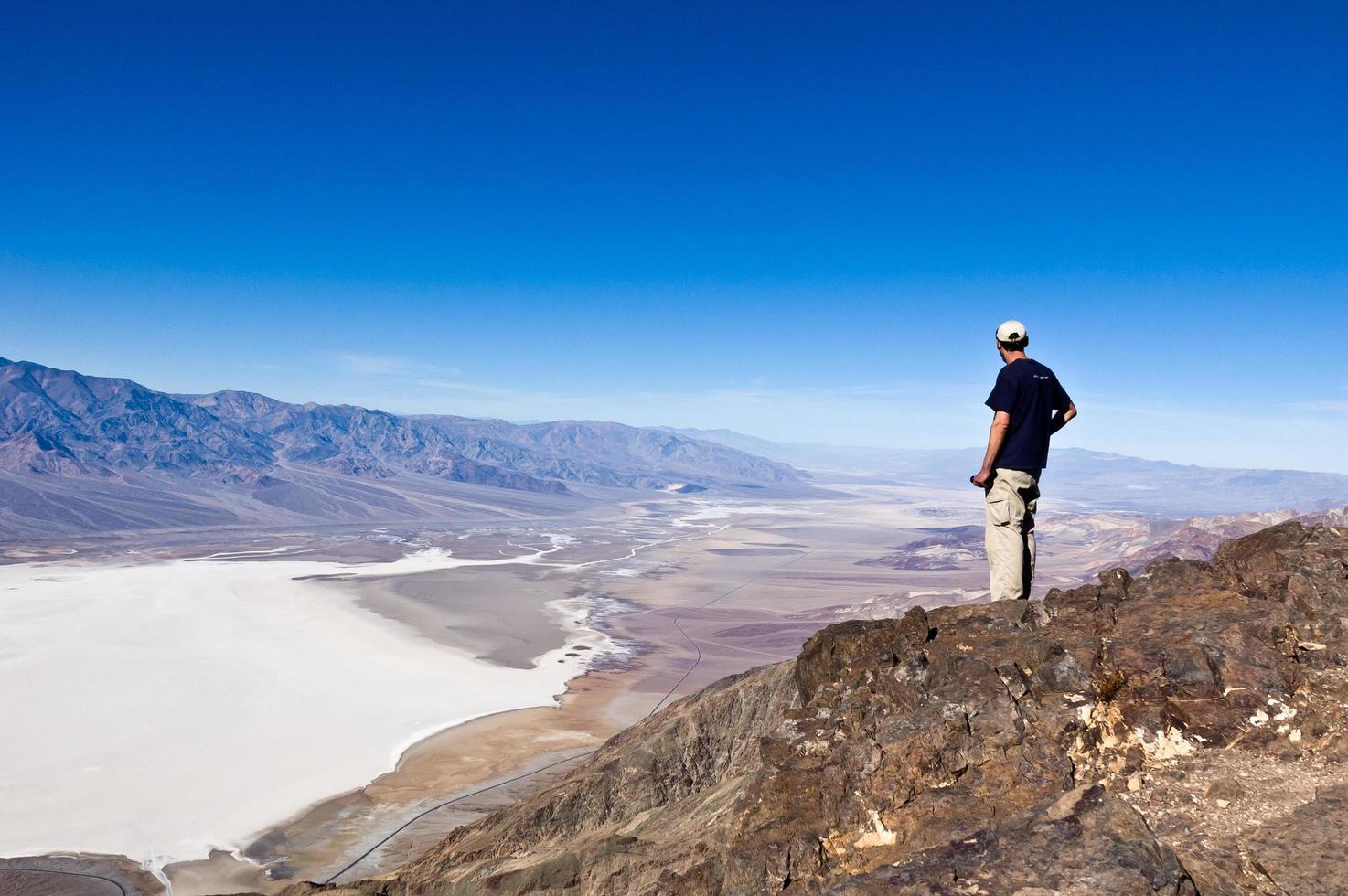vista di dante nel parco nazionale della valle della morte foto