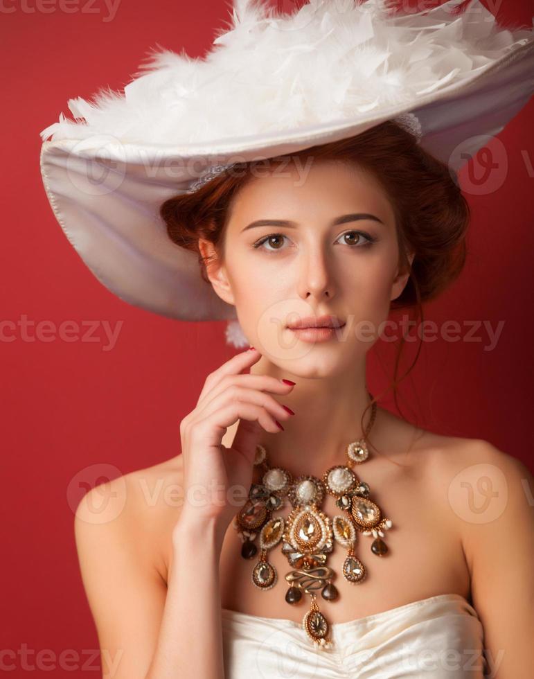 donne edoardiane con collana foto