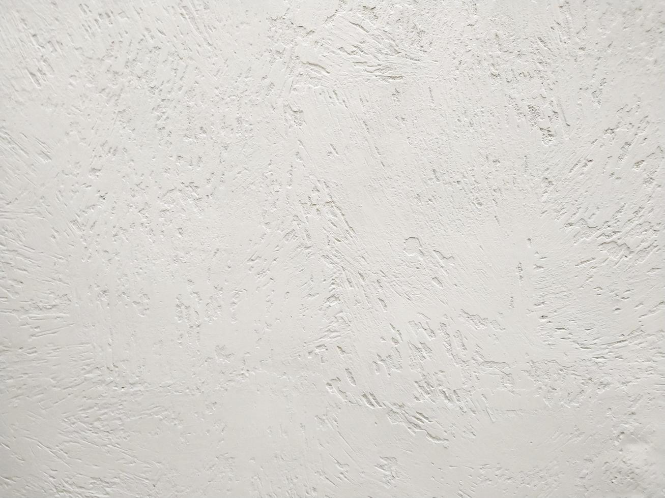 muro di stucco bianco foto