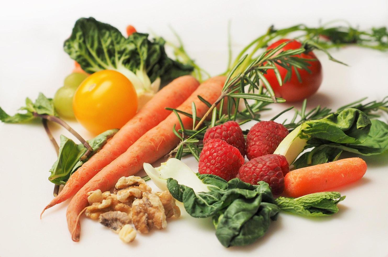 assortimento di verdure fresche foto