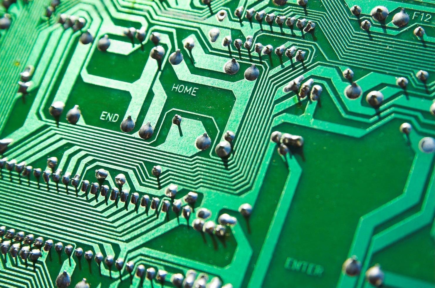 bordo del computer interno foto