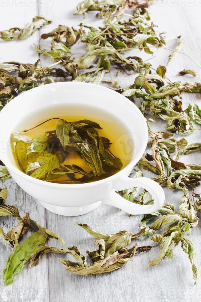 tazza di tè fresco foto