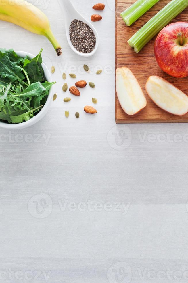 frutta, verdura e semi sani foto