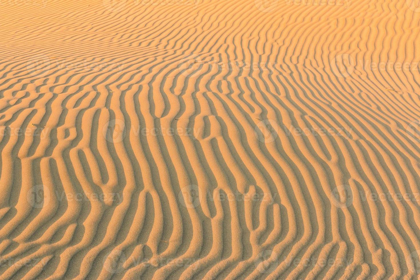 onde di sabbia si incrociano foto