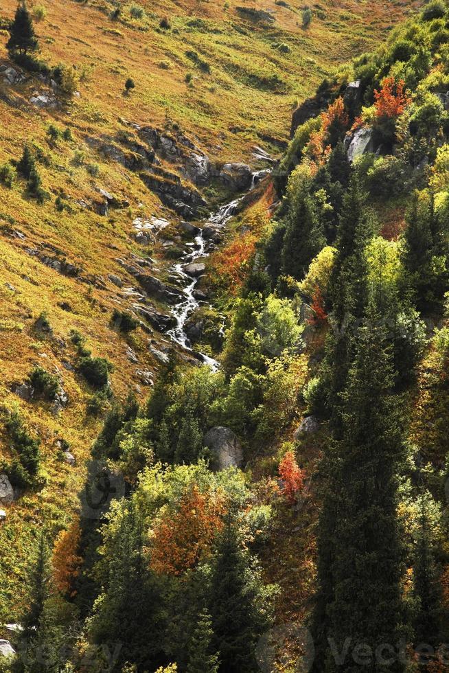 valle del medeo. kazakistan foto