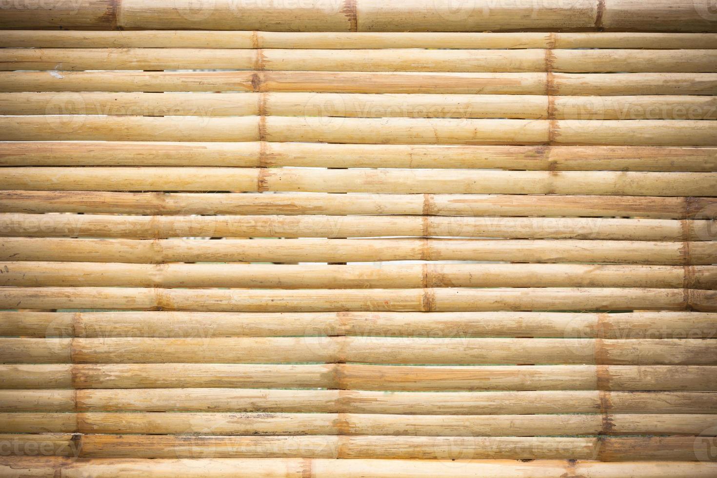 grunge background di bambù giallo e texture foto