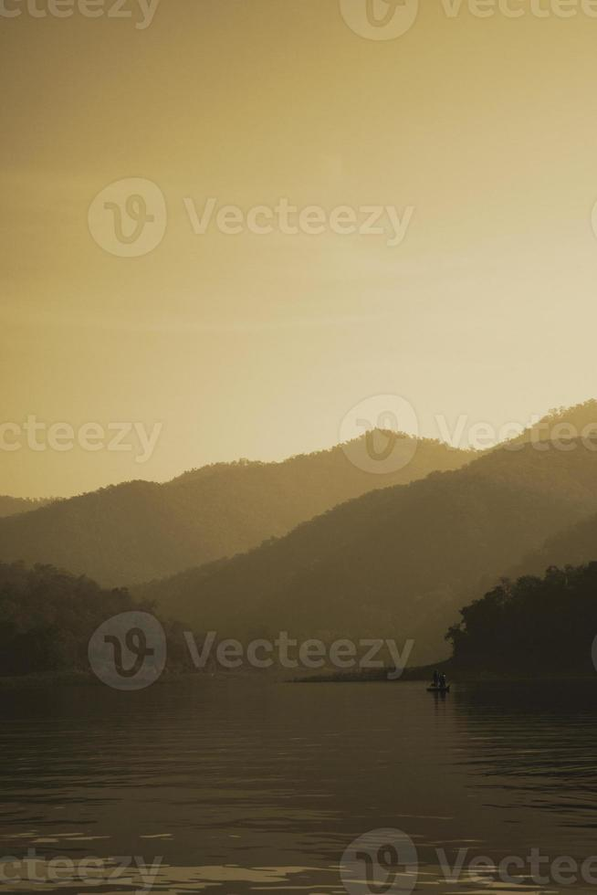 montagna tranquilla foto