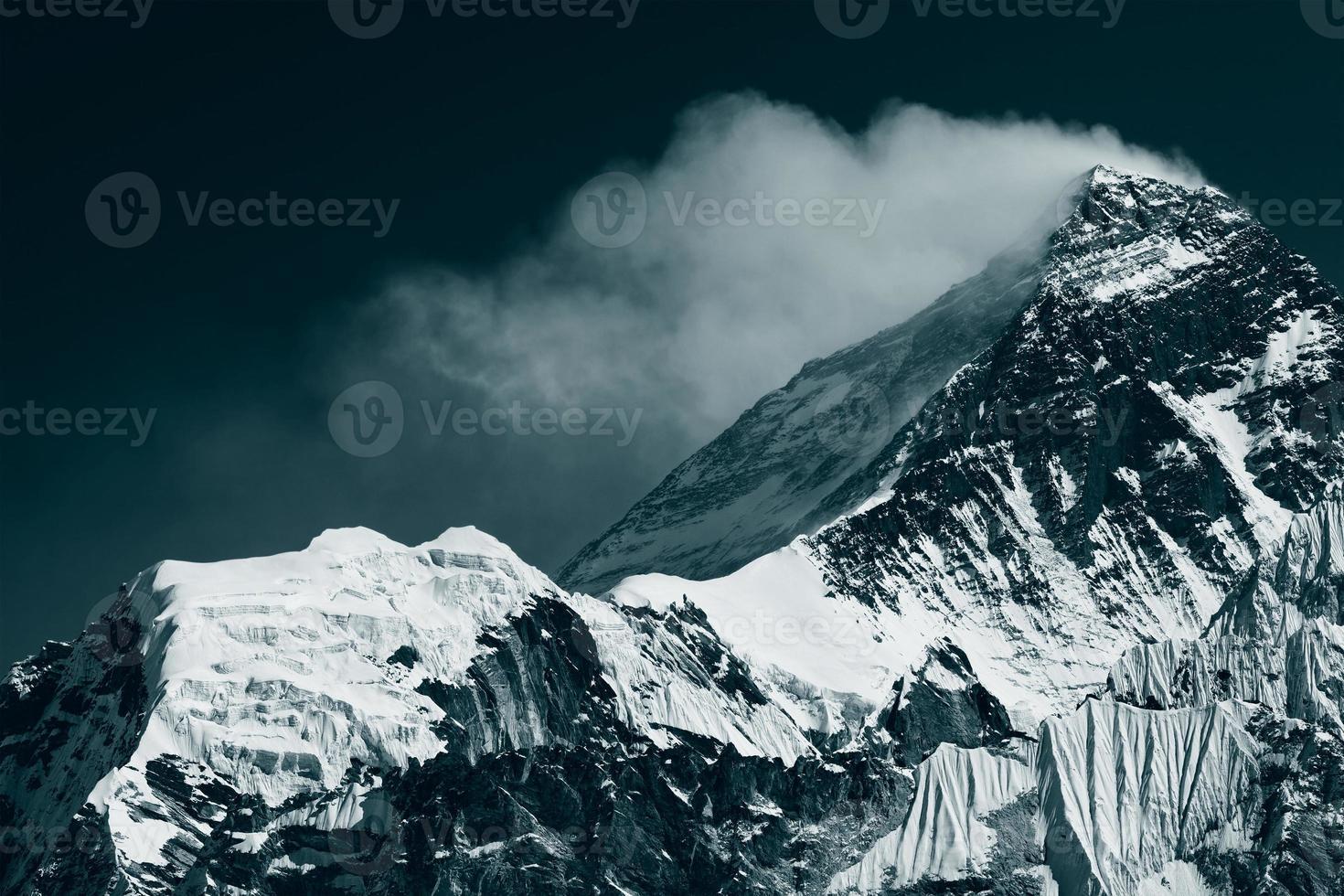 picco di mt. Everest foto