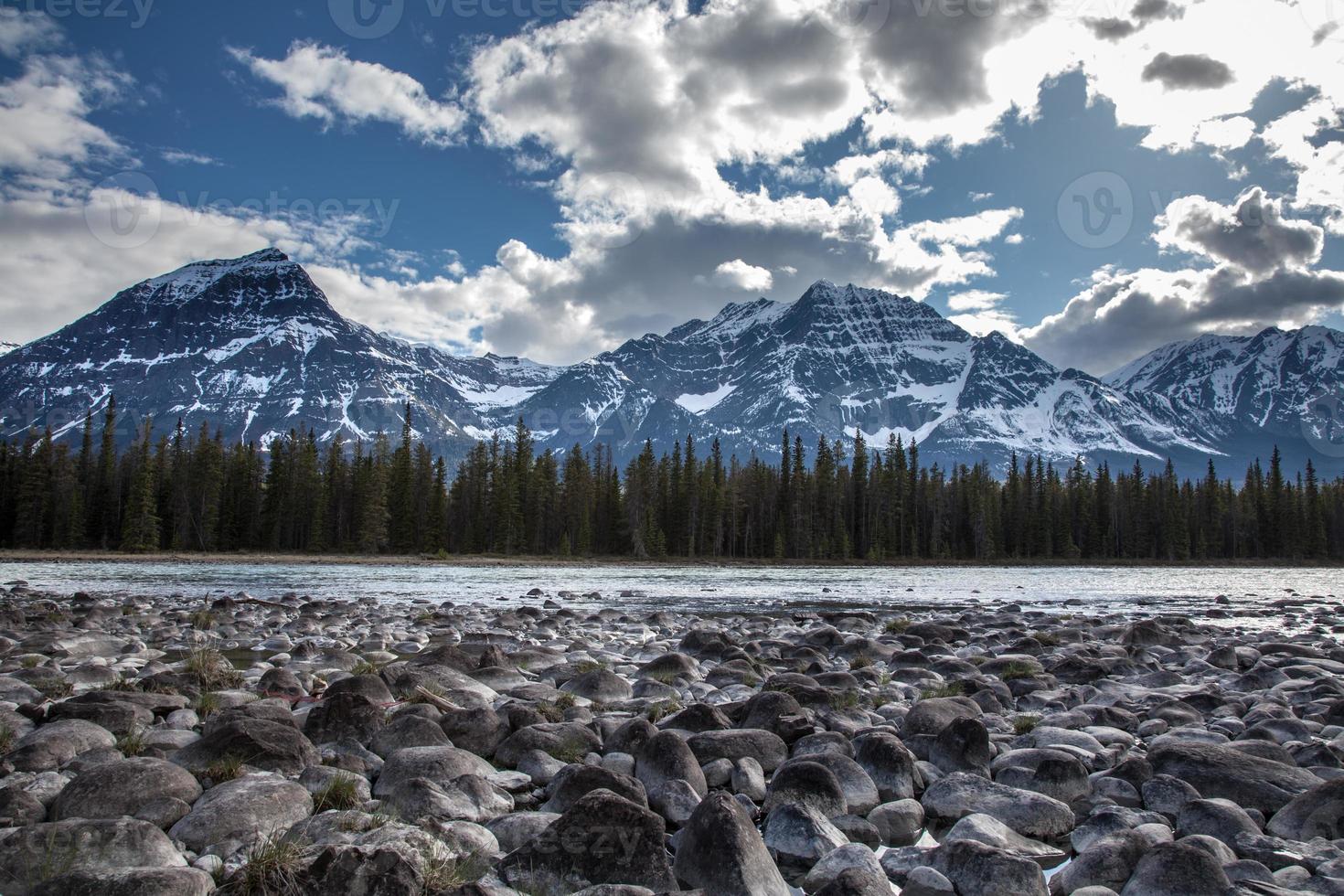 deserto di fiume e roccia foto