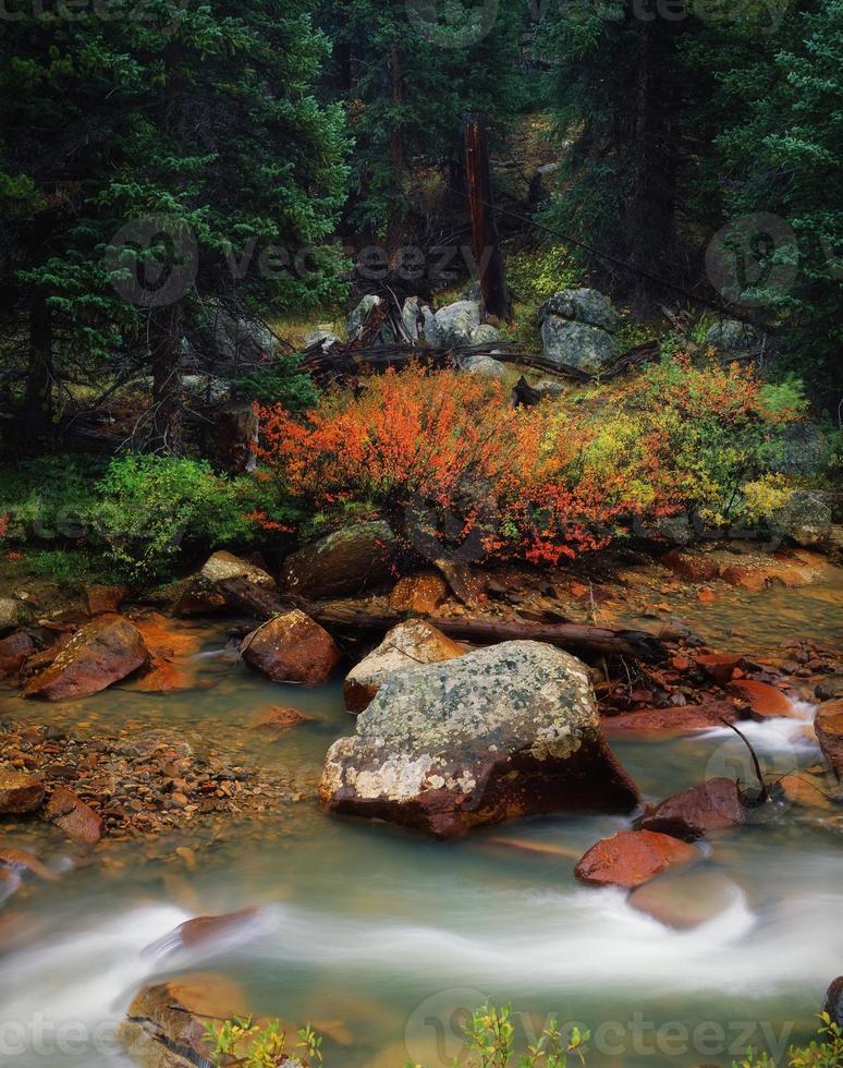 indipendenza pass mountain creek, colorado foto