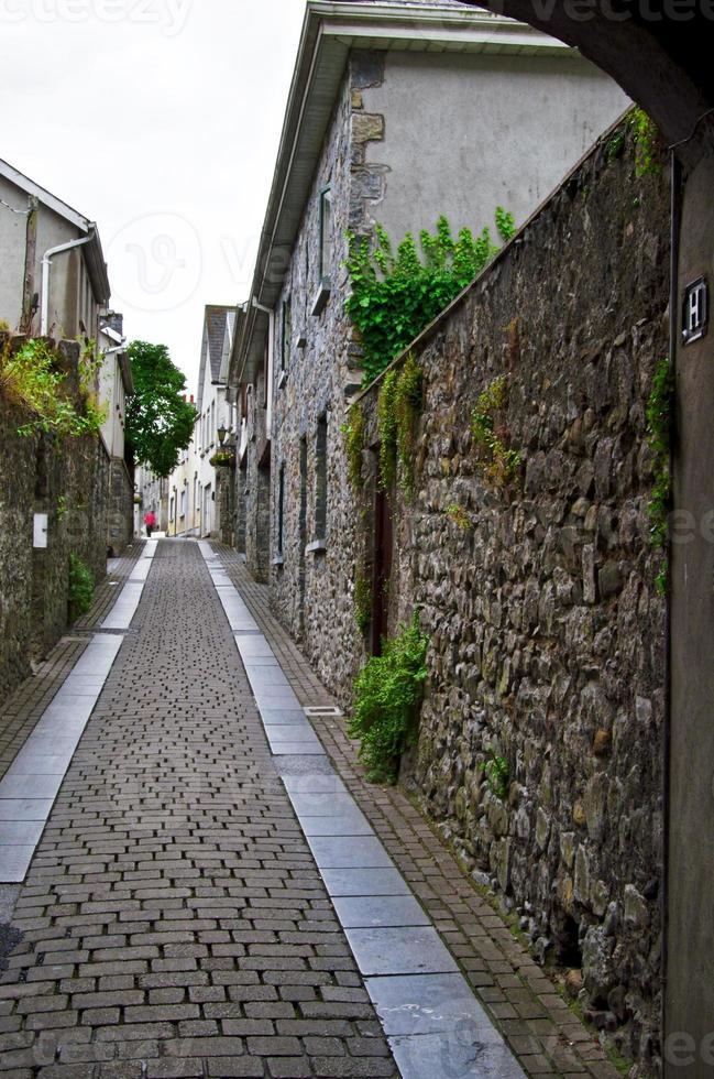 strada solitaria a Kilkenny foto